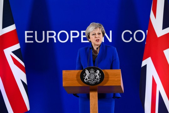 Mandatory Credit: Photo by Isopix/REX (9991924bl) Theresa May Brexit summit, Brussels, Belgium - 25 Nov 2018 Round Table at the special meeting of the European Council. The leaders of the 27 remaining EU member countries (EU27) meet 'to endorse the draft Brexit withdrawal agreement and to approve the draft political declaration on future EU-UK relations' in a special meeting of the European Council on Britain leaving the EU under Article 50.