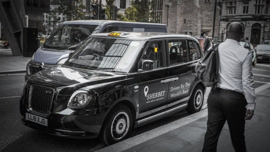 SHERBET RIDE LAUNCH LONDON?S FIRST EVER ALL ELECTRIC FLEET OF BLACK TAXIS ? New service Sherbet RIDE available for download from today ? Service will boast a fleet of 150 vehicles, comprised of Electric, Vito and TX models offering Londoners their first ever fleet of electric black taxis ? Sherbet aim to ?reclaim Central London journeys? for the black taxi industry ahead of the introduction of Ultra Low Emissions Zone in April 2019 ? Licensed London taxi trade still worth ?1.4bn to the capital?s economy annually ? Service is brainchild of Asher Moses, industry stalwart with over 30+ years? experience on London?s roads