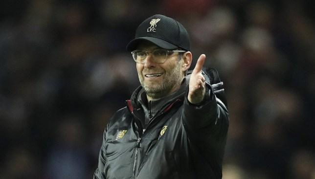 epa07196411 Liverpool head coach Jurgen Klopp (R) reacts during the UEFA Champions League Group C soccer match between Paris Saint Germain and Liverpool at the Parc des Princes stadium in Paris, France, 28 November 2018. EPA/YOAN VALAT