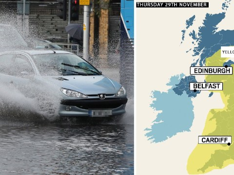 Met Office weather warning as severe gales batter Britain in Storm Diana