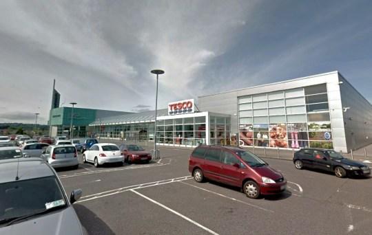 Tesco, Mahon Point Shopping Centre in Cork