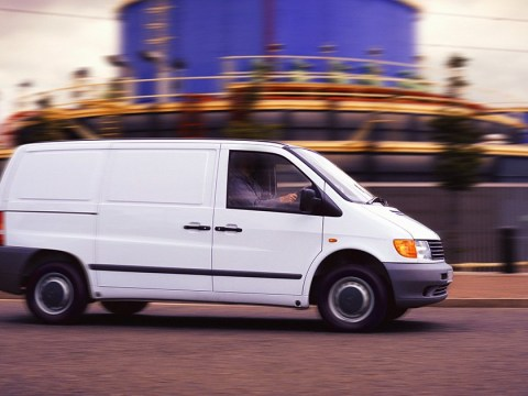 White van driver prowling streets trying to abduct people