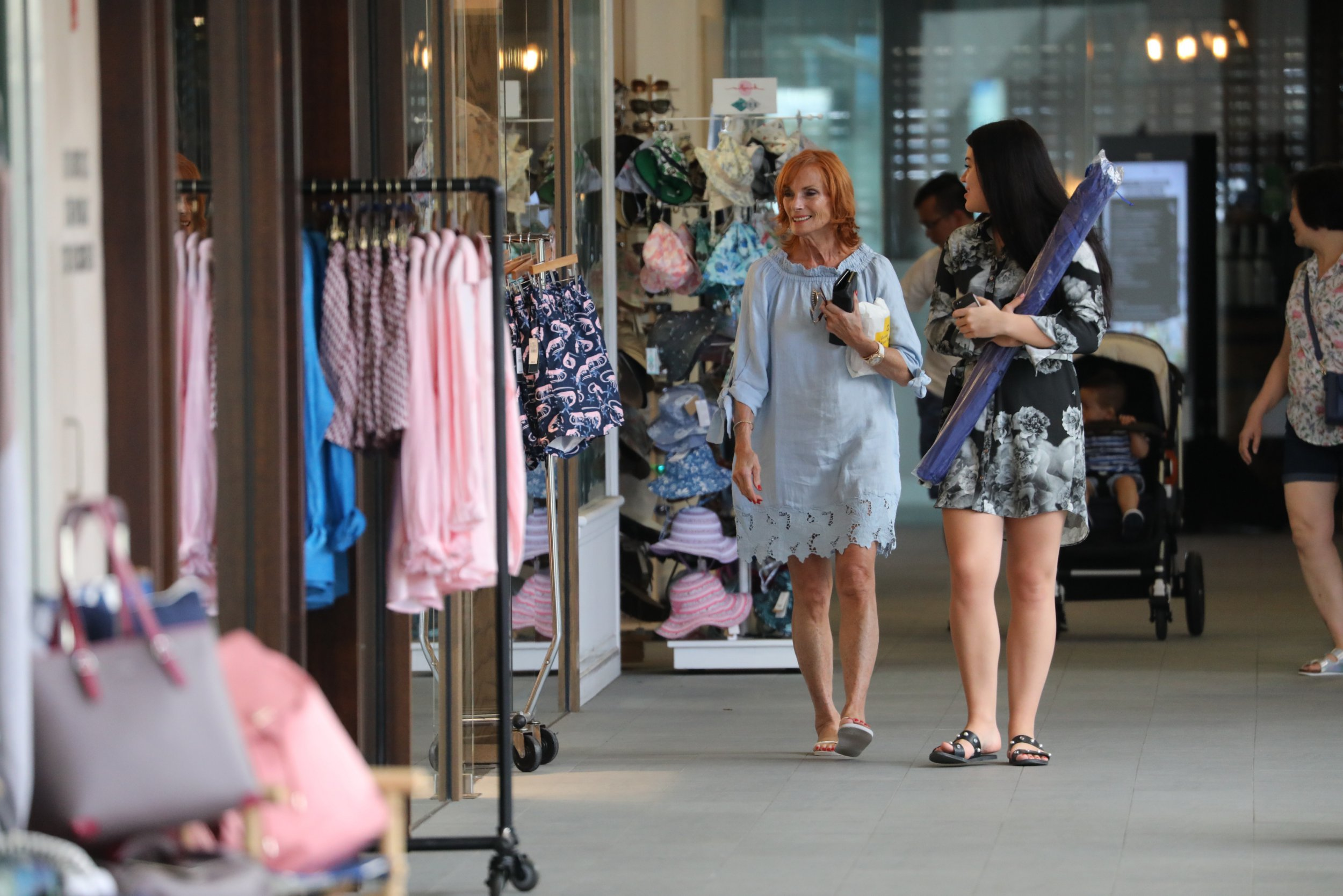 EXCLUSIVE: I am a Celebrity Harry Redknapp wife Sandra relaxes on the Gold Coast with their Grand daughter Molly. 29 Nov 2018 Pictured: Sandra Redknapp, Molly. Photo credit: MEGA TheMegaAgency.com +1 888 505 6342