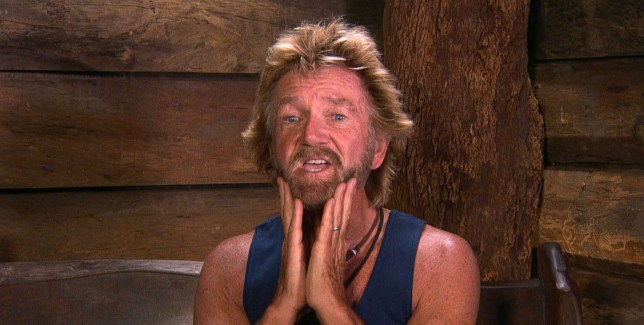STRICT EMBARGO - NOT TO BE USED BEFORE 22:30 GMT, 29 NOV 2018 - EDITORIAL USE ONLY Mandatory Credit: Photo by ITV/REX (10003486fg) Morning Story: I Like My Bum - Noel Edmonds 'I'm a Celebrity... Get Me Out of Here!' TV Show, Series 18, Australia - 29 Nov 2018