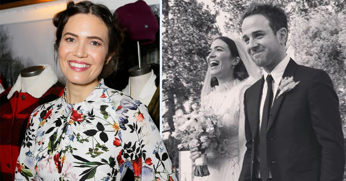 Mandy Moore 'completely fell in love' with husband Taylor Goldsmith before they even kissed