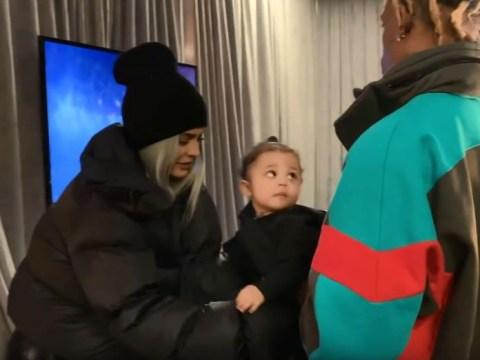 Travis Scott and Kylie Jenner don't let daughter Stormi Webster watch TV – despite making her KUWTK debut