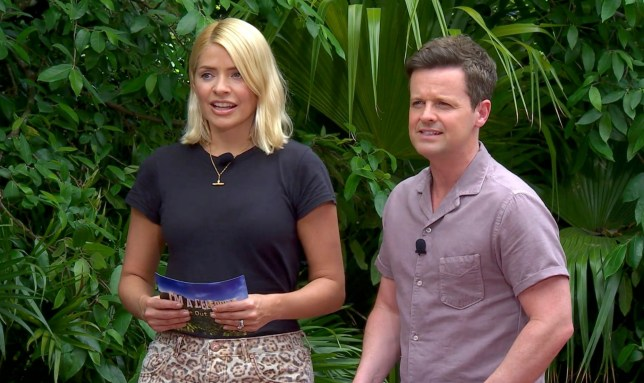 Editorial use only Mandatory Credit: Photo by ITV/REX/Shutterstock (10007806k) Immunity Games: Rancid Race - Holly Willoughby and Declan Donnelly 'I'm a Celebrity... Get Me Out of Here!' TV Show, Series 18, Australia - 30 Nov 2018