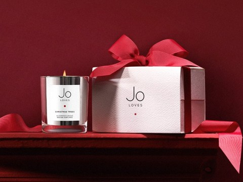 Best Christmas scented candles 2018: Jo Loves Christmas Trees A Scented Candle