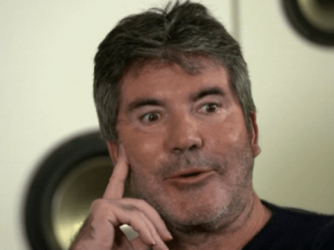 Simon Cowell struggles to pronounce hyperbole and people are finding it really hard to accept