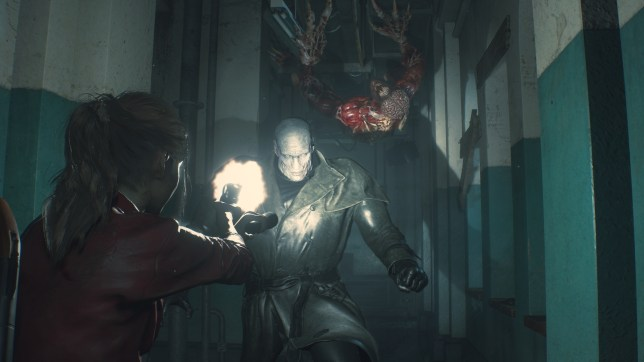 Resident Evil 2 - in this instance, just run!