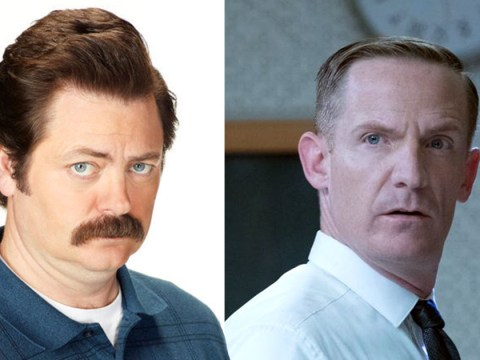 The Good Place confirms Nick Offerman, aka Parks and Rec's Ron Swanson, was originally supposed to play Shawn