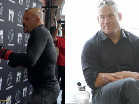 Chuck Liddell heckled during workout by unimpressed Tito Ortiz