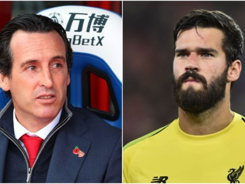 Alisson fires warning at Unai Emery and Arsenal ahead of Liverpool clash