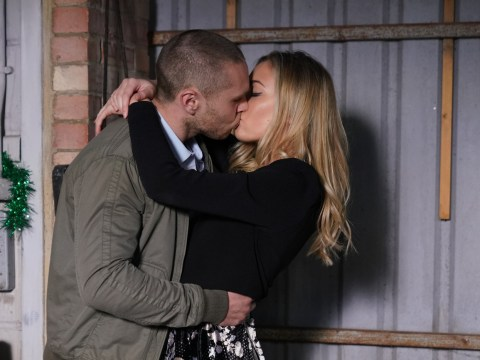EastEnders spoilers: Louise Mitchell and Keanu Taylor share a passionate kiss