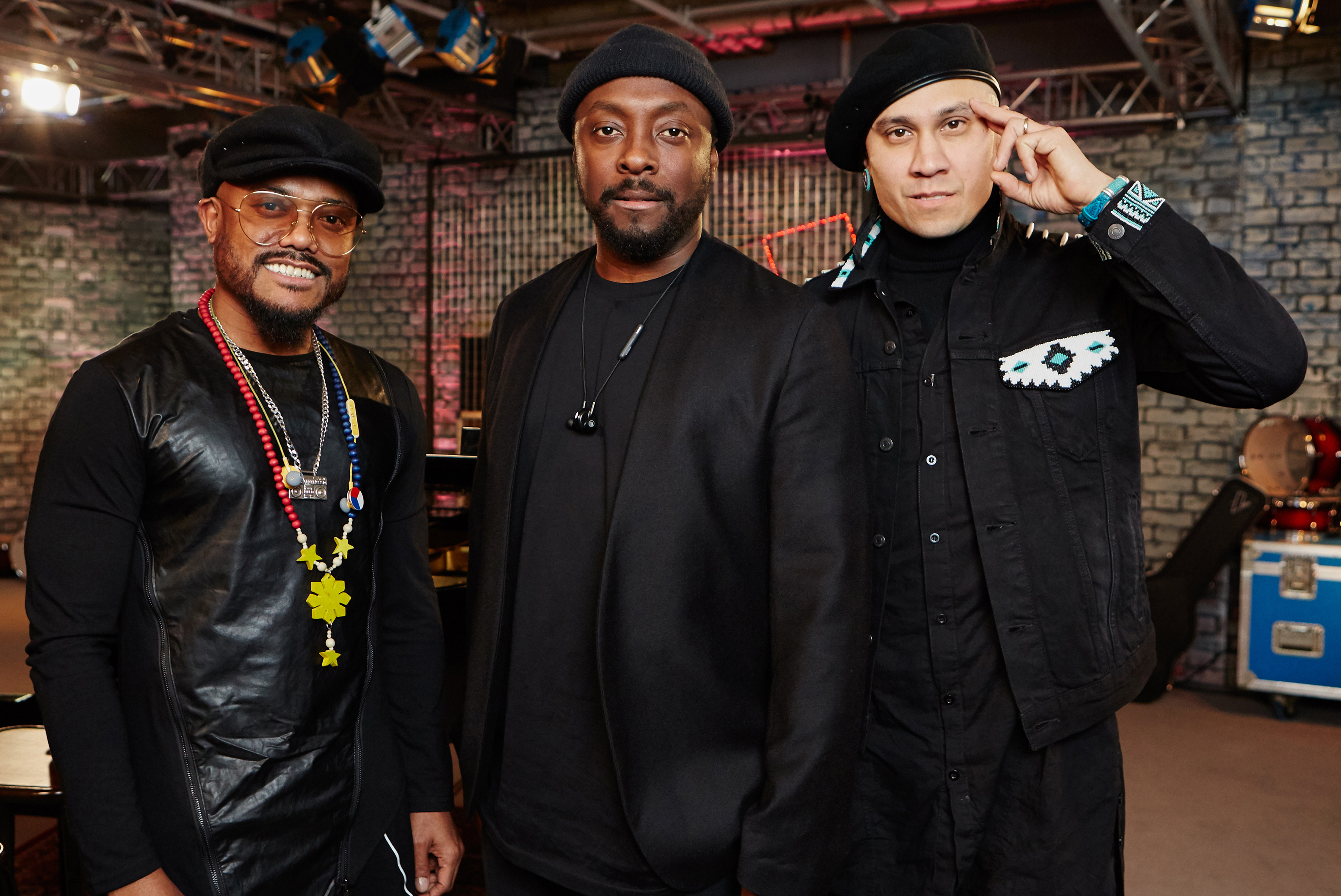 Black Eyed Peas to join Robbie Williams at BST