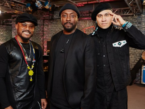 When is The Black Eyed Peas 20th anniversary special on ITV and why is Joanna Lumley hosting?