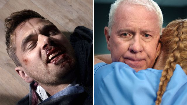 Casualty review with spoilers: Iain's in the wrong place at the wrong time
