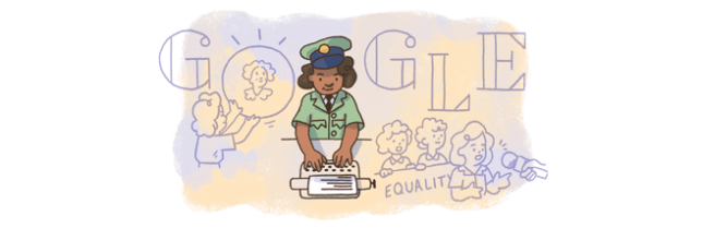 Connie Mark Google Doodle