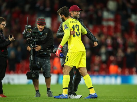 Jurgen Klopp reveals Alisson motivated Liverpool to beat Man United