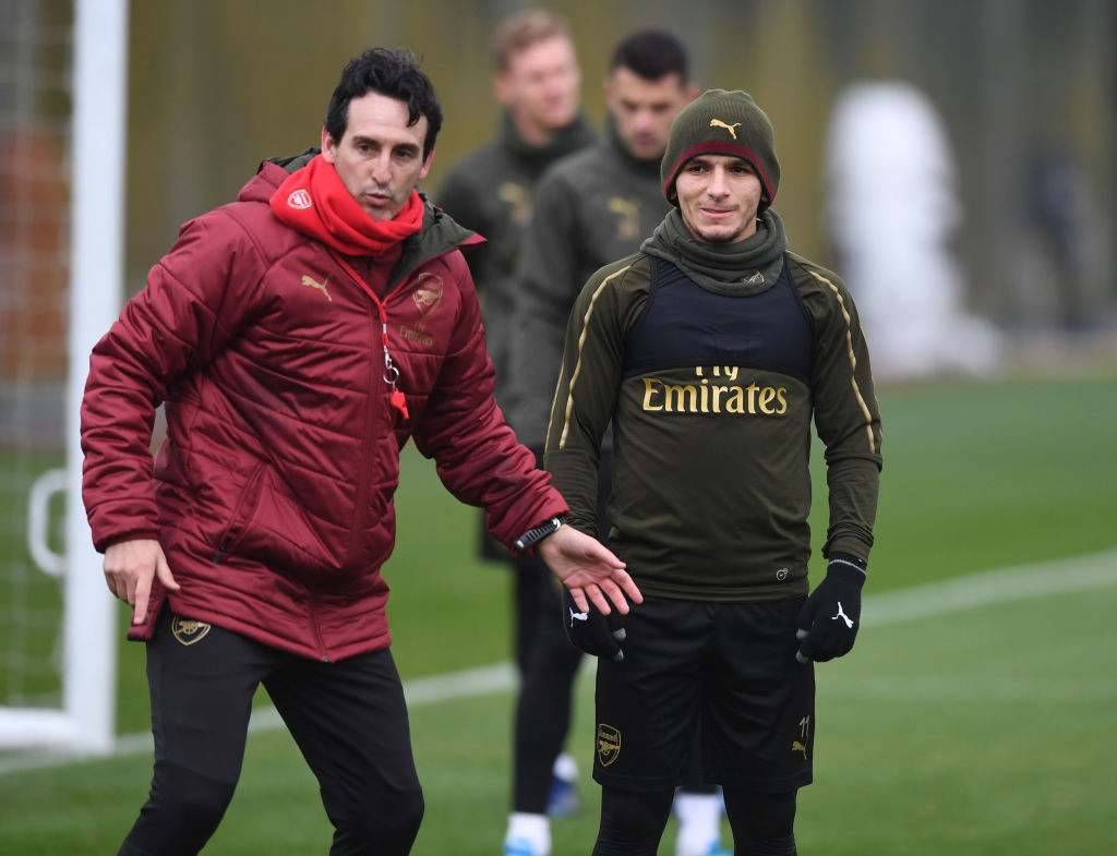 Unai Emery reveals the advice he'll give Lucas Torreira ahead of Brighton and Liverpool clashes