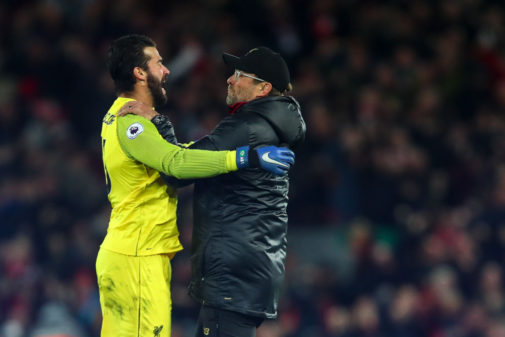 Alisson Becker names the two characteristics that set Jurgen Klopp apart from other managers