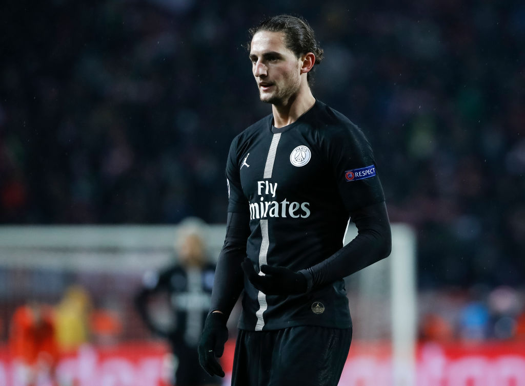 Adrien Rabiot to reject Liverpool and Arsenal transfer to join Barcelona