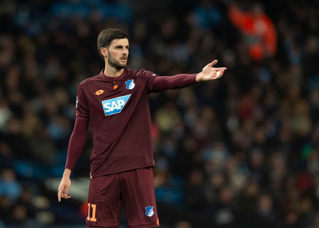 Arsenal and Spurs set to battle over the signing of Hoffenheim's Florian Grillitsch