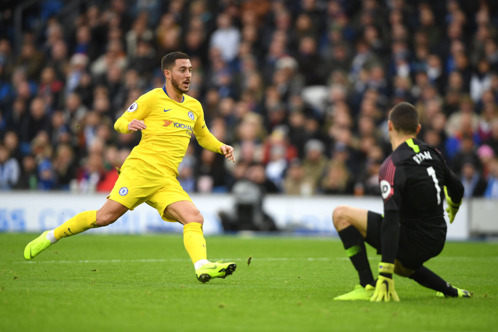 The stat that proves Sarri-ball has rejuvenated Chelsea star Eden Hazard