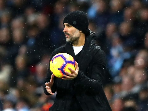 Pep Guardiola reacts after Crystal Palace stun Manchester City and hand Liverpool boost