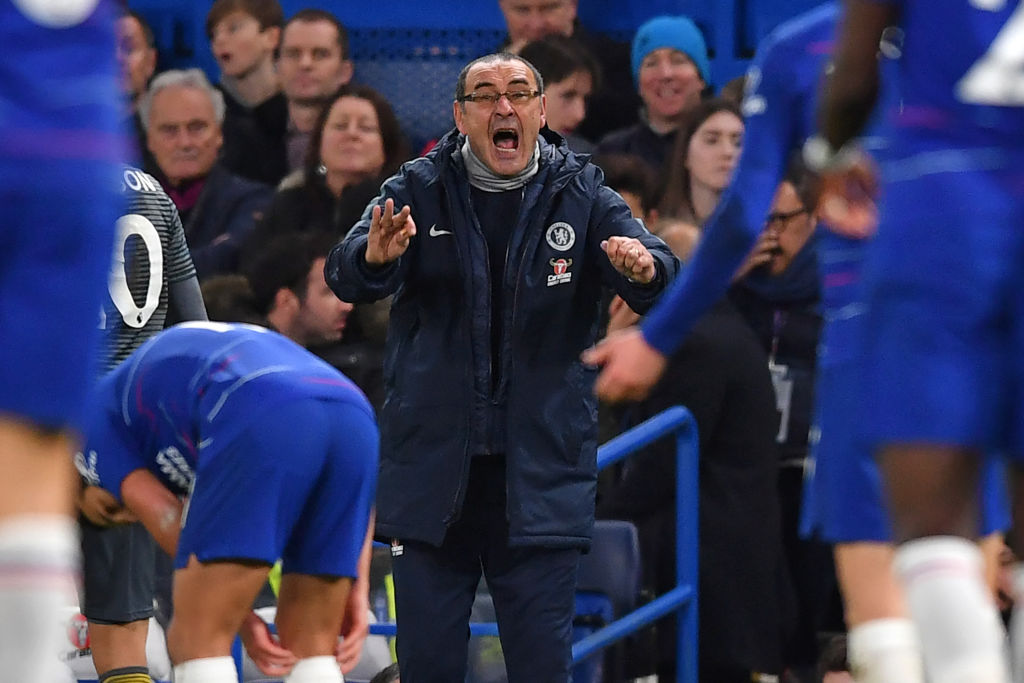 'Concerned' Maurizio Sarri speaks out on Chelsea's shock defeat to Leicester City