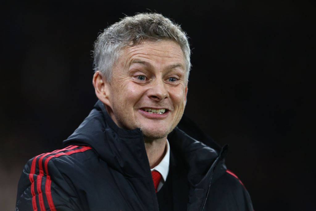 Ole Gunnar Solskjaer told Manchester United players to 'play more forward' after Jose Mourinho's exit