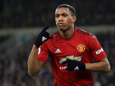 Anthony Martial missing from Manchester United's squad to face Huddersfield