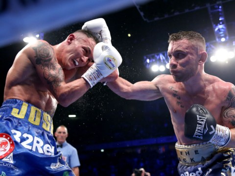 Carl Frampton refuses to rule out retirement after defeat to Josh Warrington