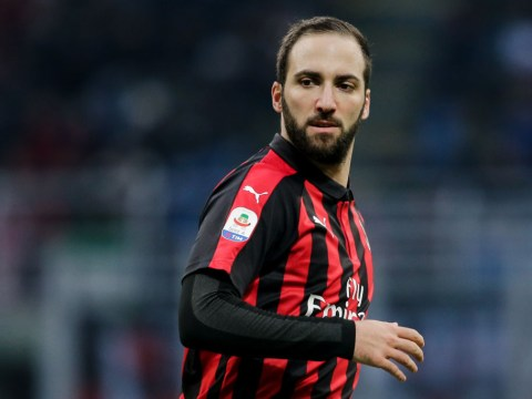 AC Milan deny Chelsea have made an offer for Gonzalo Higuain