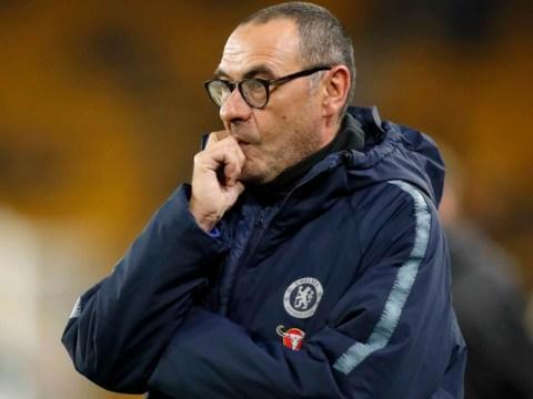 Chelsea boss Maurizio Sarri shunned transfer planning, claims Aurelio De Laurentiis