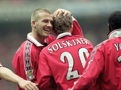 David Beckham wishes Ole Gunnar Solskjaer luck after taking charge at Manchester United