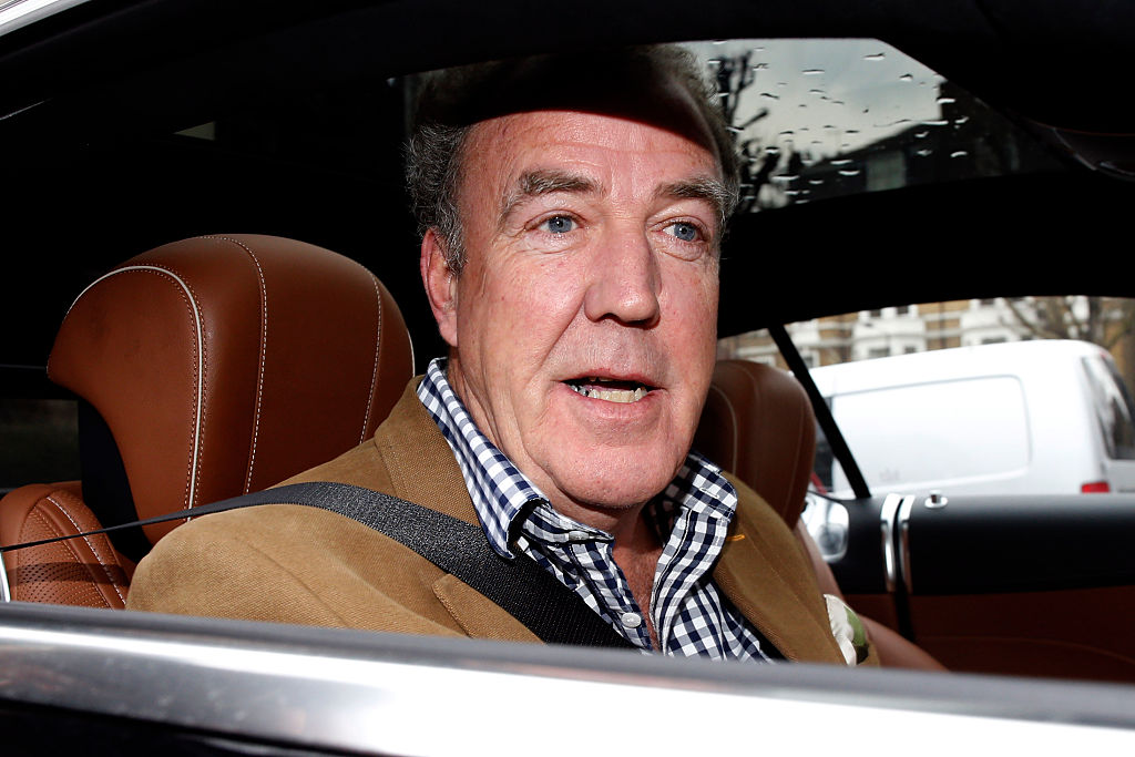 Grand Tour's Jeremy Clarkson nearly pooed himself with fright after a close shave on the test track