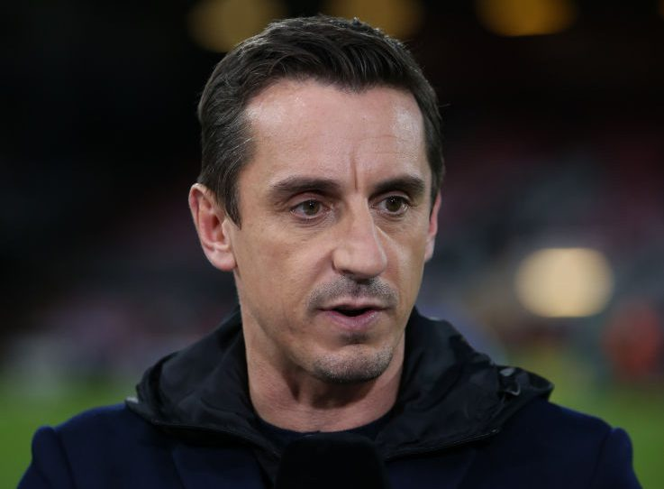 Gary Neville baffled by Manchester United's 'neglect' of Andrew Robertson
