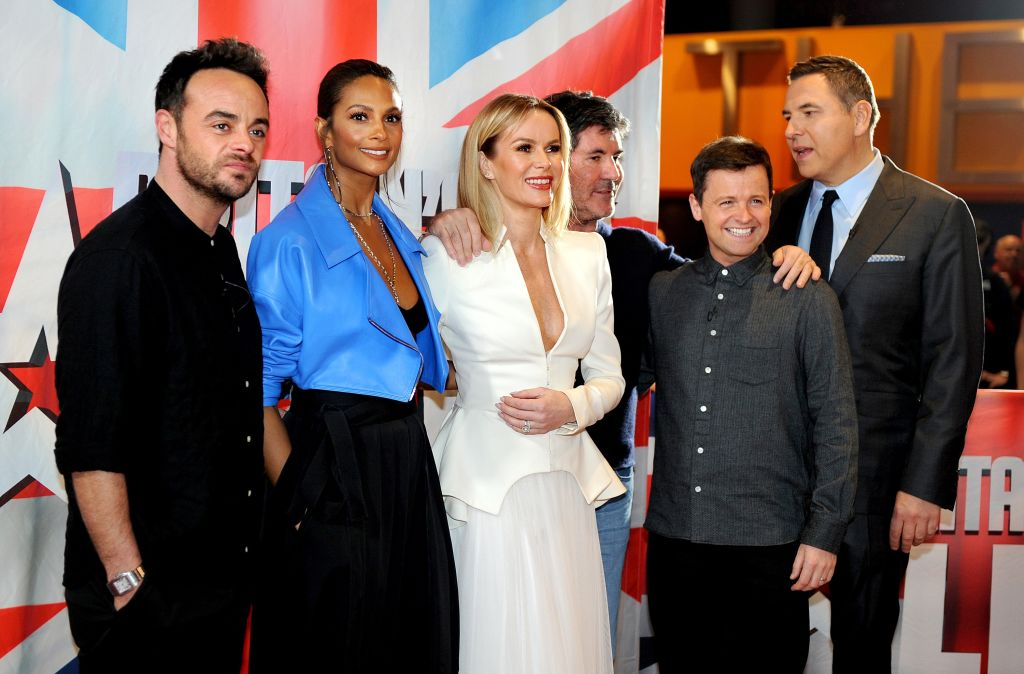 Amanda Holden vows never to leave Britain's Got Talent unless Simon Cowell sacks her
