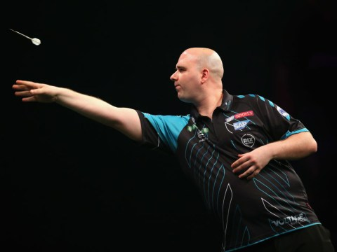 Defending champion Rob Cross 'playing at 20%' going into PDC World Darts Championship