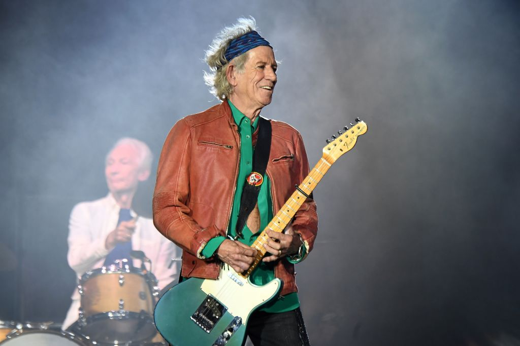 'I got fed up with it': Legendary hellraiser Keith Richards has basically quit drinking