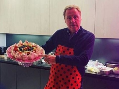 I'm A Celebrity's Harry Redknapp improves on his house skills in frilly apron after leaving jungle