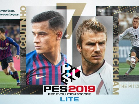 PES 2019 Lite has been released and it lets you play the game for free