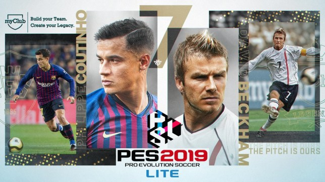 PES 2019 Lite released and it lets you play the game for