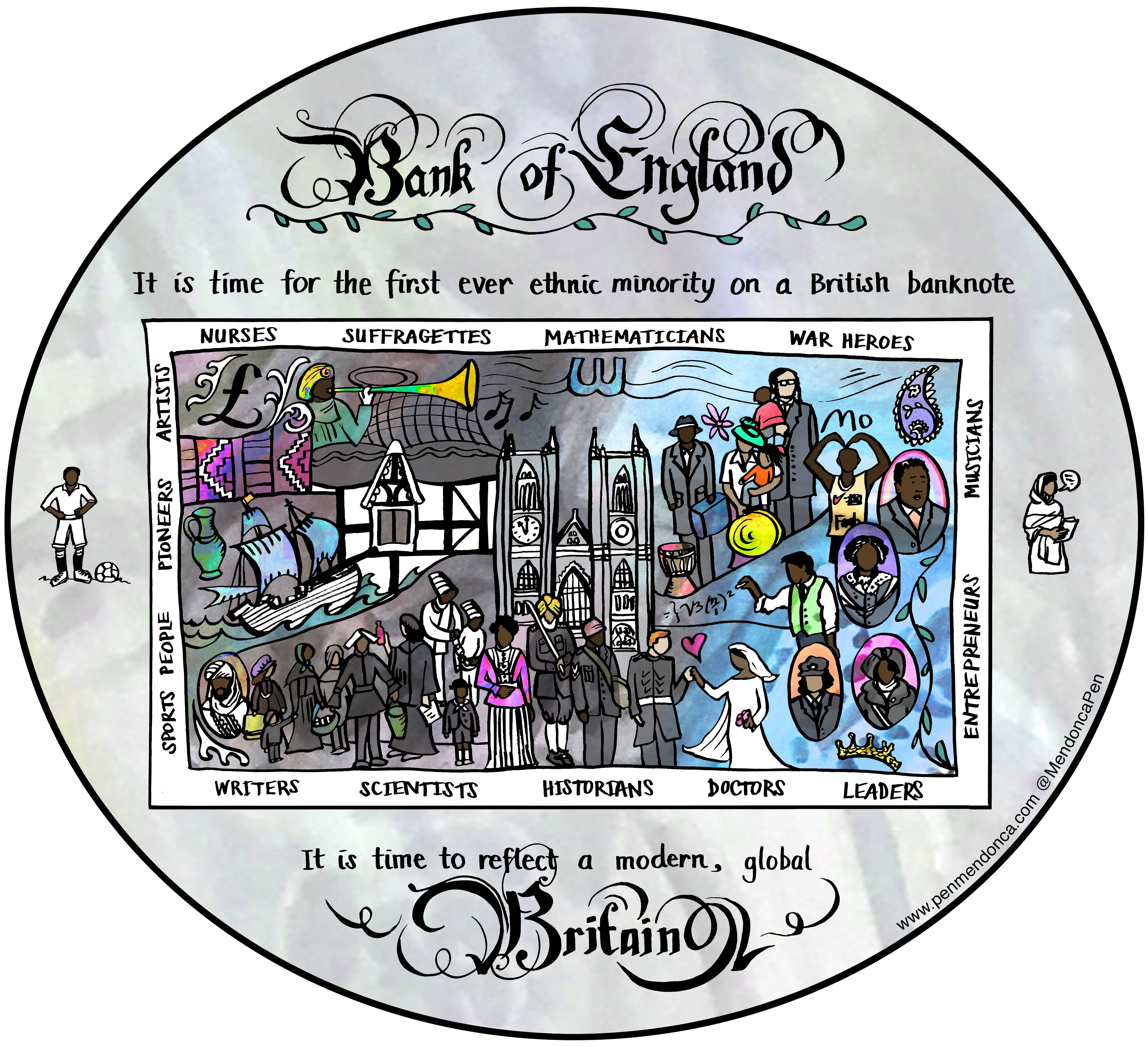 Our banknotes must feature ethnic minorities if we are to reflect modern Britain