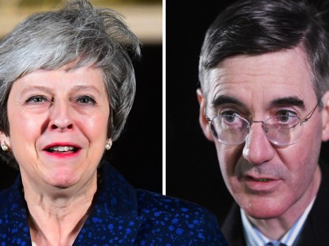 Jacob Rees-Mogg tells Theresa May to quit after third of Tories voted against her