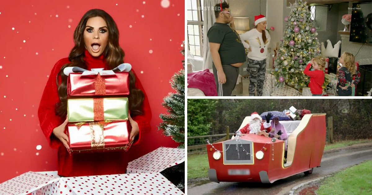 Katie Price 'blows £6,000 on Christmas decorations' days after swerving bankruptcy