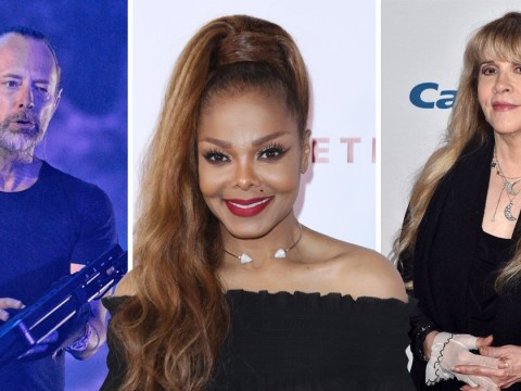 Janet Jackson, Stevie Nicks and Radiohead to be inducted into Rock and Roll Hall of Fame