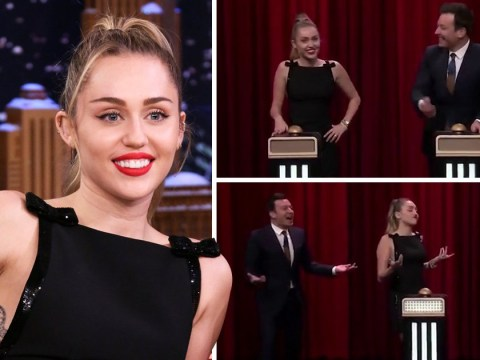 Miley Cyrus doesn't even recognise her own song during music challenge with Jimmy Fallon