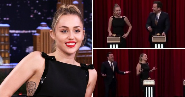 Miley Cyrus doesn't even recognise her own song during game with Jimmy Fallon